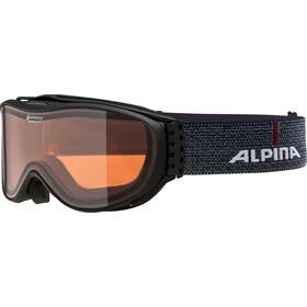 Alpina Challenge 2.0 Quattroflex Hicon S2 Maschera, black matt